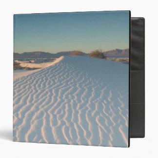 USA, New Mexico, White Sands National Vinyl Binder