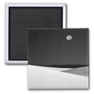 USA, New Mexico, White Sands National Monument. 2 Inch Square Magnet