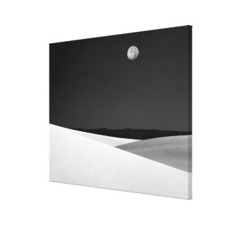 USA, New Mexico, White Sands National Monument. Canvas Print