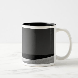 USA, New Mexico, White Sands National Monument. Two-Tone Coffee Mug