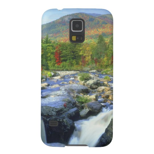 USA, New York. A waterfall in the Adirondack Case For Galaxy S5