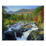 USA, New York. A waterfall in the Adirondack Poster