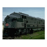 USA, New York Central EMD E8 passenger diesel Postcards