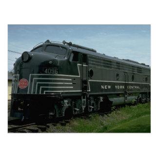 USA, New York Central EMD E8 passenger diesel Postcard