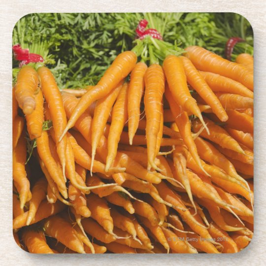 USA, New York City, Carrots for sale 2 Coaster