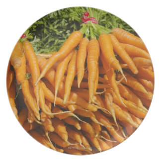 USA, New York City, Carrots for sale 2 Plate