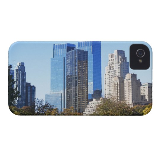 USA, New York City, Central Park with skyline Case-Mate iPhone 4 Case
