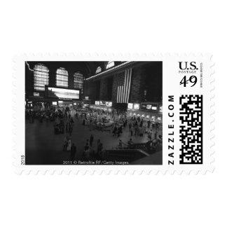 USA New York City Grand Central Station Postage Stamp