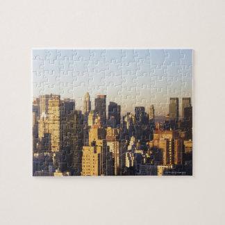 USA, New York City, Manhattan skyline 2 Puzzles