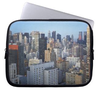 USA, New York City, Manhattan skyline Computer Sleeves