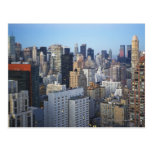 USA, New York City, Manhattan skyline Postcard