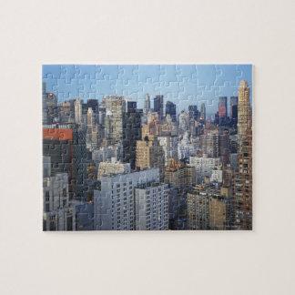 USA, New York City, Manhattan skyline Puzzles