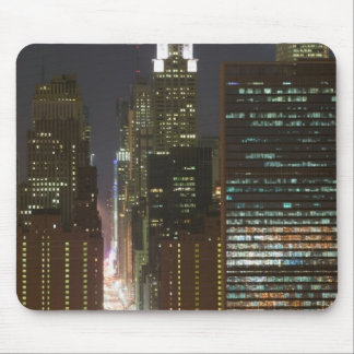 USA, New York City, View of Midtown with Mouse Pad