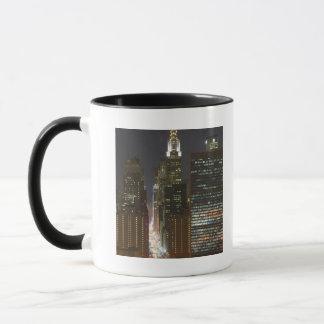 USA, New York City, View of Midtown with Mug