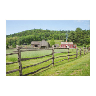 USA, New York, Cooperstown, Farmers' Museum Canvas Print