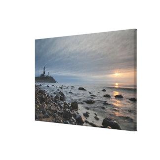 USA, New York, East Hampton. Montauk Point Stretched Canvas Prints