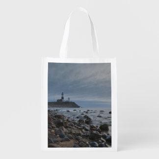 USA, New York, East Hampton. Montauk Point Grocery Bag