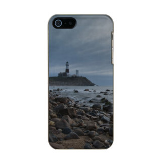 USA, New York, East Hampton. Montauk Point Metallic iPhone SE/5/5s Case