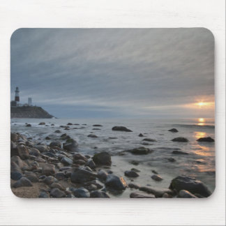 USA, New York, East Hampton. Montauk Point Mouse Pad