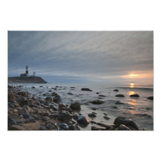 USA, New York, East Hampton. Montauk Point Photo Print