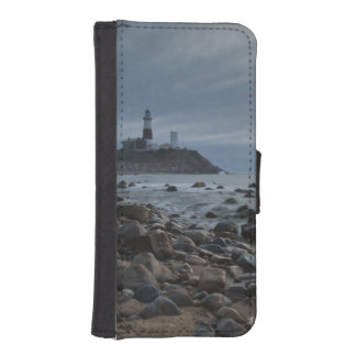 USA, New York, East Hampton. Montauk Point Wallet Phone Case For iPhone SE/5/5s