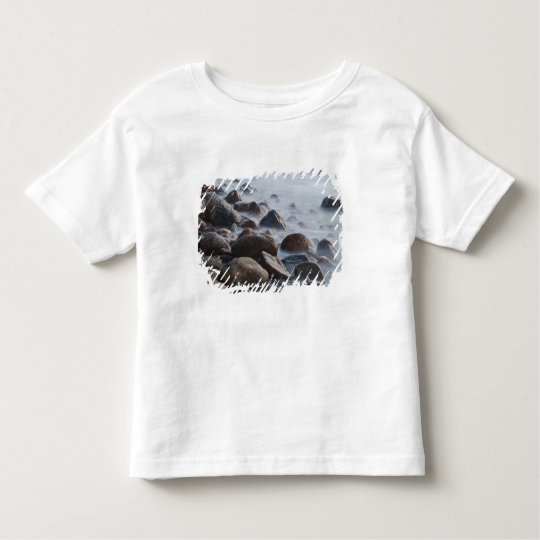 USA, New York, East Hampton. Ocean surf at Toddler T-shirt