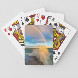 USA, New York, Lake Ontario, Clark's Point Playing Cards