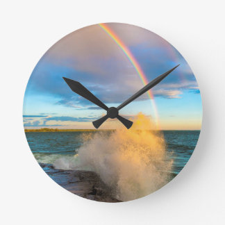 USA, New York, Lake Ontario, Clark's Point Round Clock