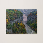 USA, New York, Letchworth State Park. River and Jigsaw Puzzles