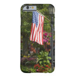 USA, New York, Lewiston. American flag attached Barely There iPhone 6 Case