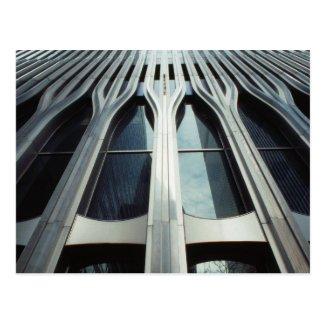 USA, New York, Manhattan, World Trade Center Post Card