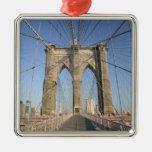 USA, New York, New York City, Brooklyn: 3 Christmas Ornaments