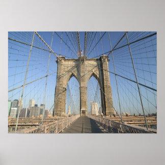 USA, New York, New York City, Brooklyn: 3 Poster