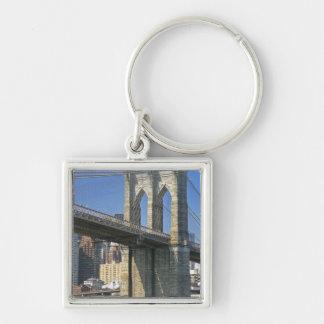 USA, New York, New York City. Brooklyn Bridge Key Chains