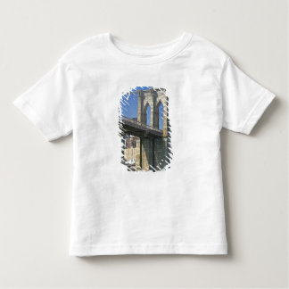 USA, New York, New York City. Brooklyn Bridge Toddler T-shirt