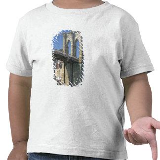 USA, New York, New York City. Brooklyn Bridge Shirts