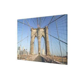USA, New York, New York City, Brooklyn: Canvas Print