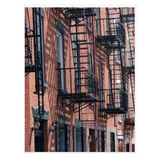 USA, New York, New York City, Brooklyn: Cobble Postcard