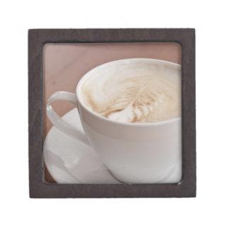 USA, New York, New York City, Cappuccino Gift Box