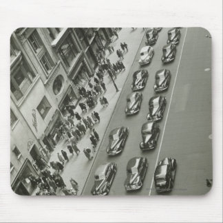 USA New York New York City elevated view Mouse Pad