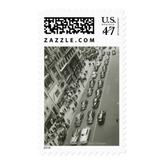 USA New York New York City elevated view Postage Stamp
