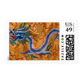 USA, New York, New York City, embroidered Stamp