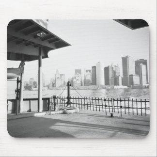 USA, NEW YORK: New York City Lower Manhattan Mouse Pad