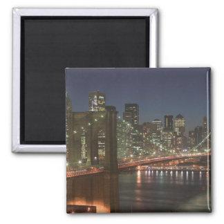 USA, New York, New York City, Manhattan: 10 2 Inch Square Magnet