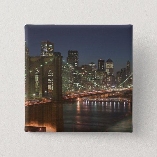 USA, New York, New York City, Manhattan: 10 Button