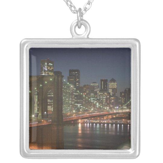 USA, New York, New York City, Manhattan: 10 Silver Plated Necklace