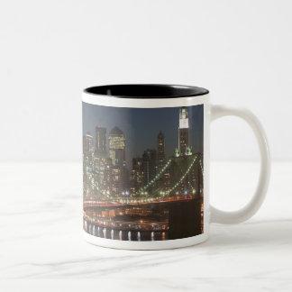 USA, New York, New York City, Manhattan: 10 Two-Tone Coffee Mug