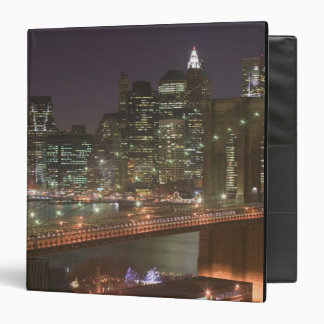 USA, New York, New York City, Manhattan: 11 3 Ring Binder