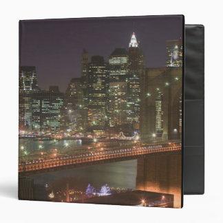 USA, New York, New York City, Manhattan: 11 3 Ring Binder