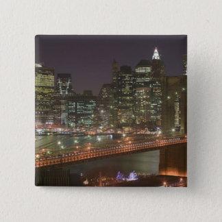 USA, New York, New York City, Manhattan: 11 Pinback Button